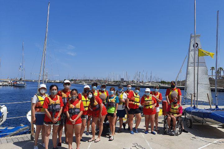 Aventura nàutica a València per a familiars amb discapacitat