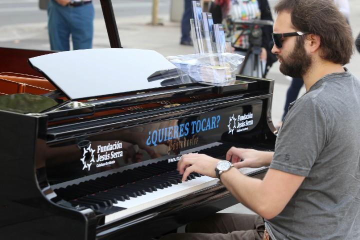 La teva ciutat s'omple de pianos arriba a Saragossa