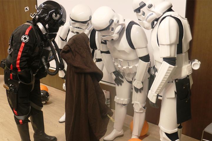 Vull jugar amb els personatges de Star Wars
