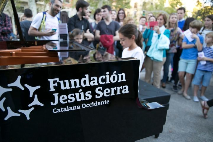 San Sebastian is filled with pianos
