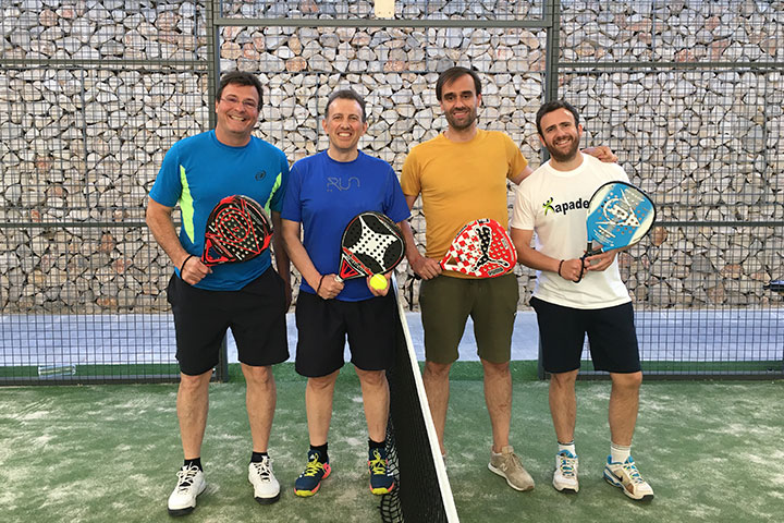 2019 charity paddle tennis tournament for the association Apadema