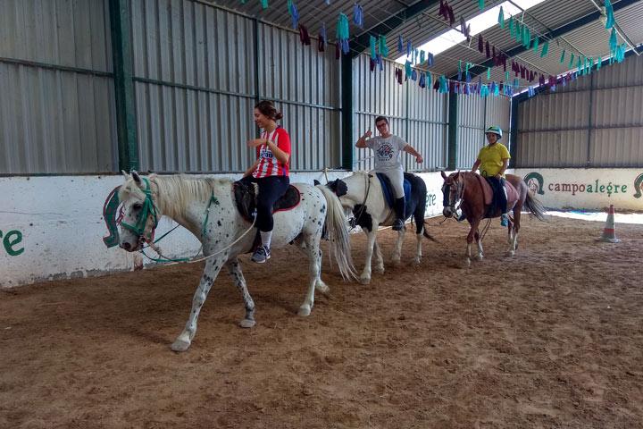 Equestrian activity in Aragon