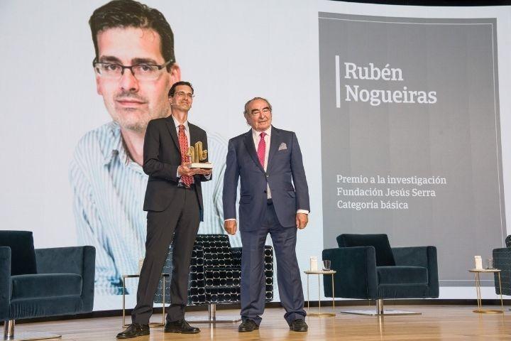 Fundación Jesús Serra Research Award - Rubén Nogueiras