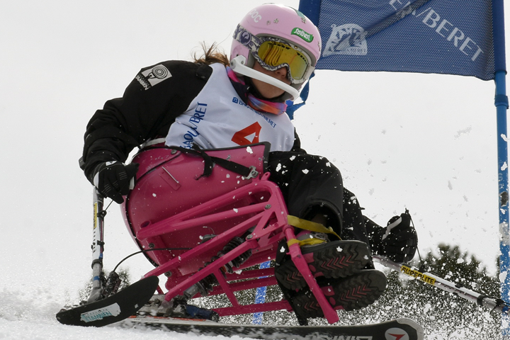 GS alpine skiing and snowboarding competition