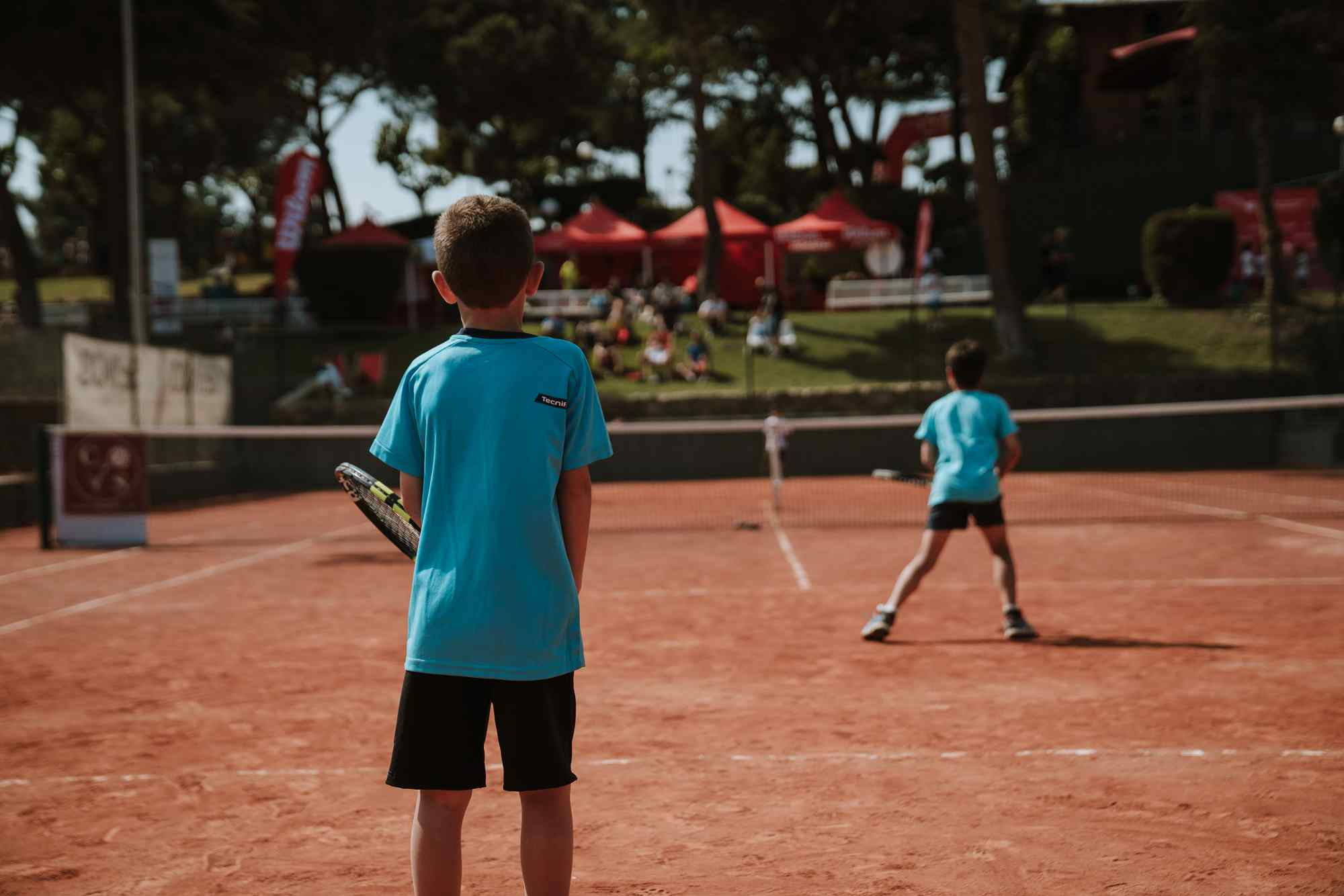 Preliminary stage of the Xpress Tennis Cup 2021 in Barcelona