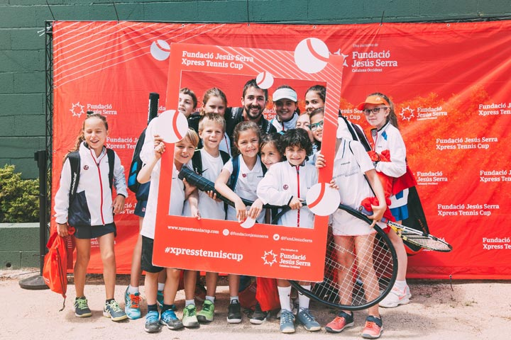 Preliminary stage of the Xpress Tennis Cup in Barcelona