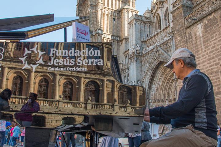 Pianos en la calle Málaga