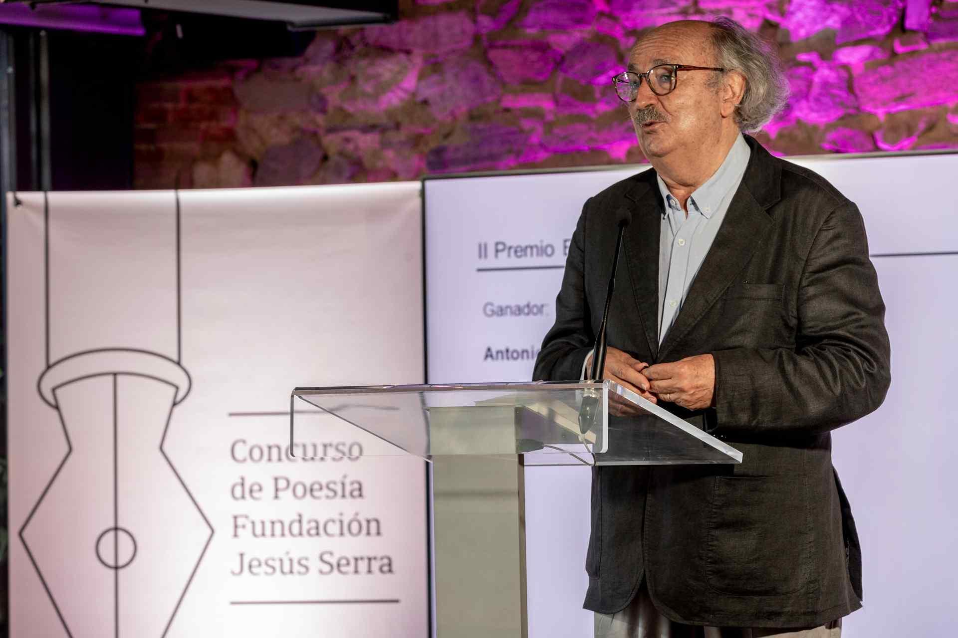 Antonio Colinas premio especial 2021