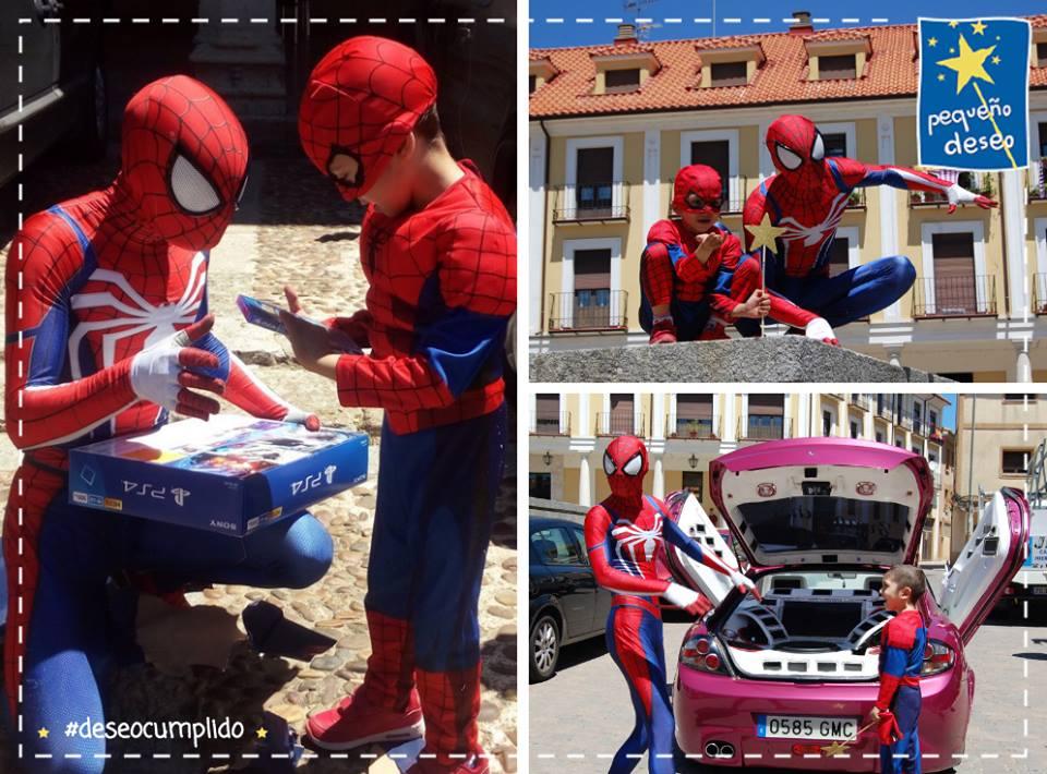 Deseo conocer a Spiderman
