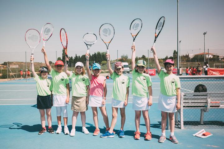 Fase previa de la Xpress Tennis Cup en Lleida