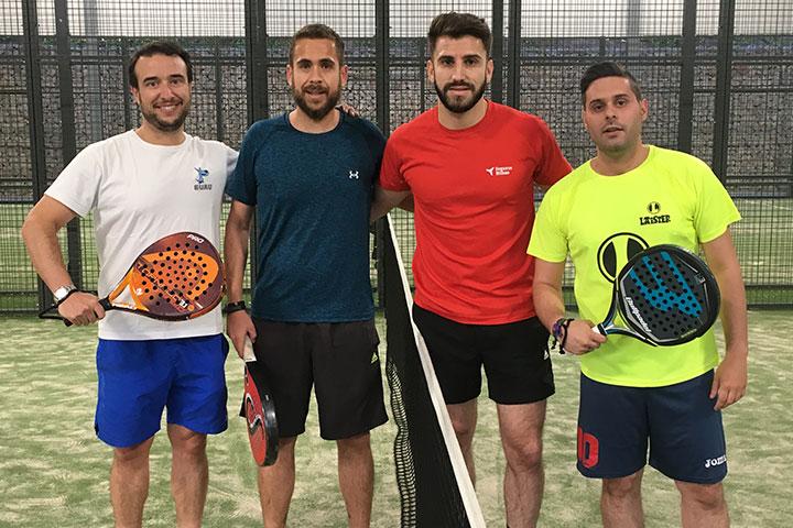 Torneo de pádel benéfico para la asociación Apadema 2019