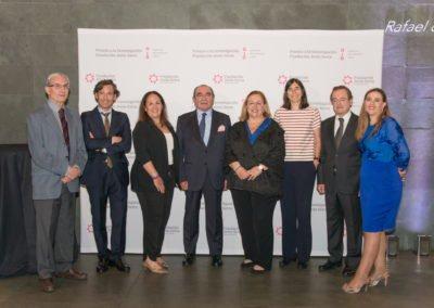 1.ª edición de los Premios a la investigación Fundación Jesús Serra:  ganadores, jurado y dirección de la Fundación