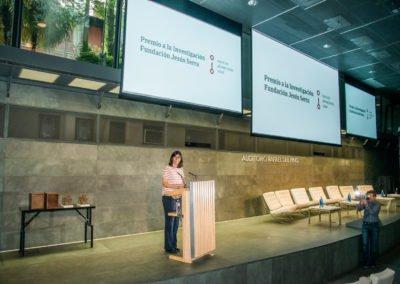 Discurso de la María Blasco, Presidenta del jurado de los Premios a la investigación Fundación Jesús Serra