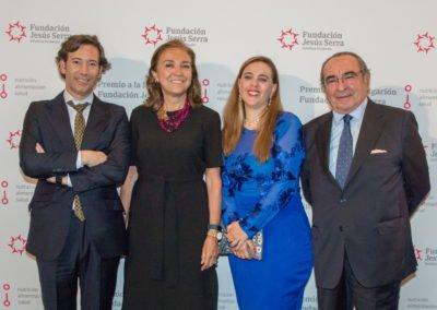 Ganadores de la 1.ª edición, con Federico Halpern, Presidente de la Fundación
