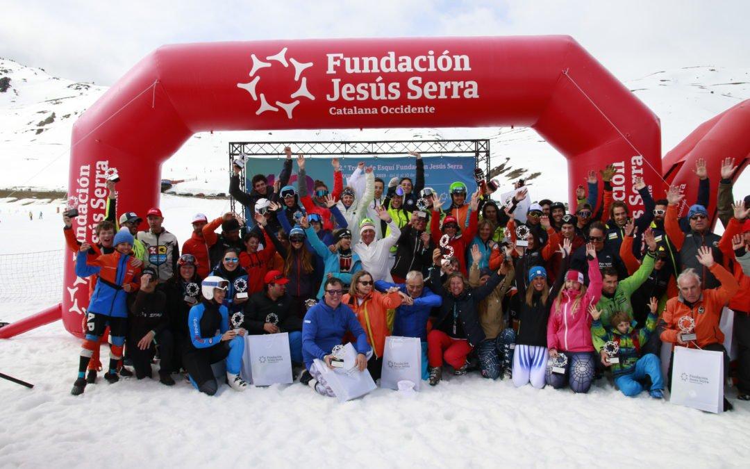 Finaliza la primera jornada de la 12ª edición del Trofeo de Esquí Fundación Jesús Serra
