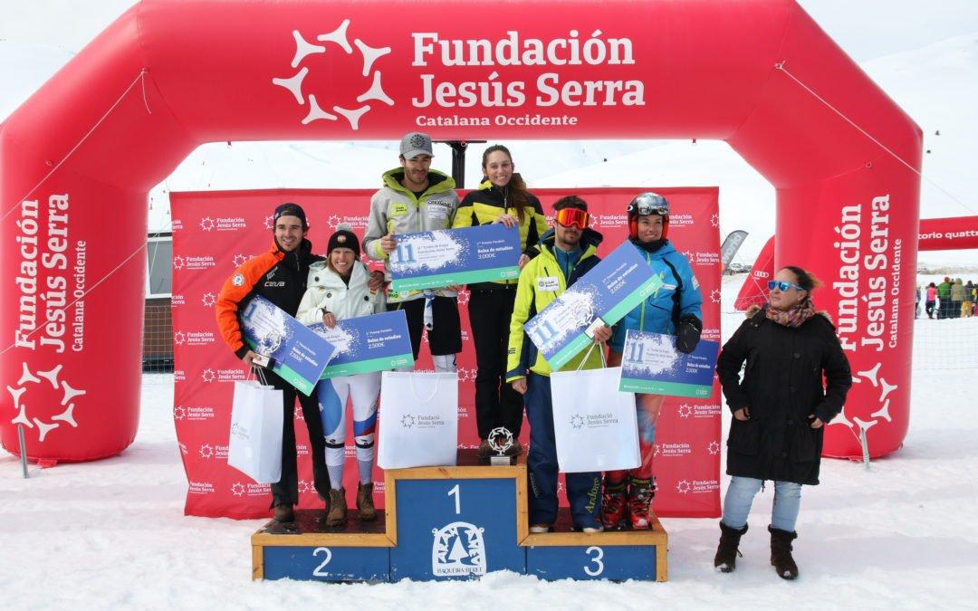 Ana Díaz-Prieto y Joan Verdú se llevan el Trofeo de Esquí Fundación Jesús Serra